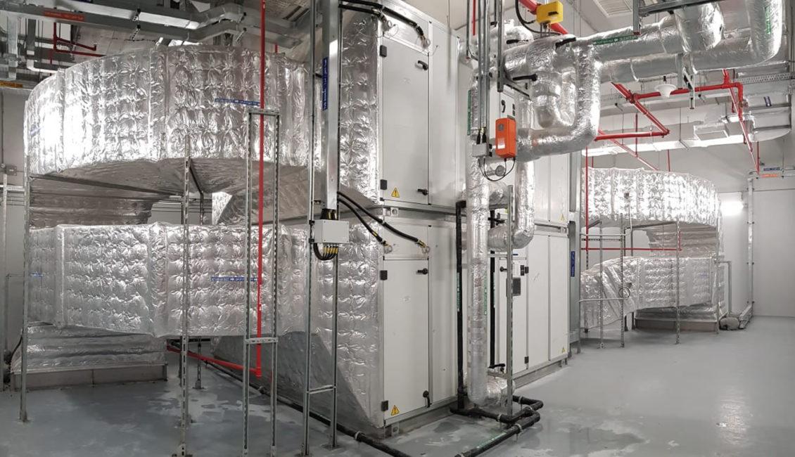 Sistema ventilación metro Doha
