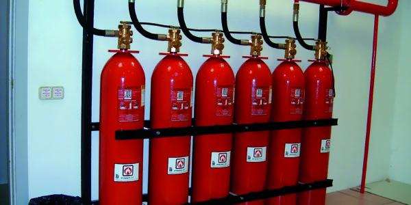 Batería de gases fluorados