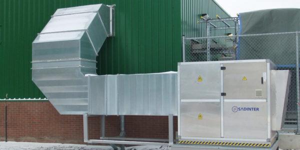 Proyecto ventilación HVAC Holanda