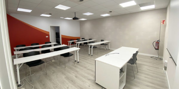 Reforma sala formación